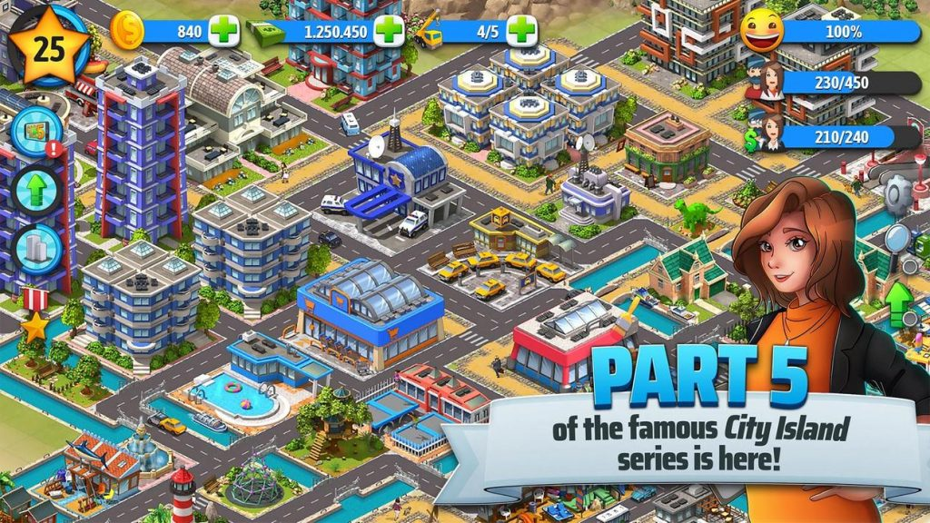 City Island 5 Tycoon Building Simulation Apk