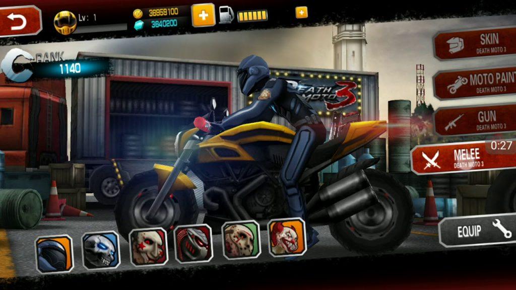 Death Moto 3 : Fighting Bike Rider Apk