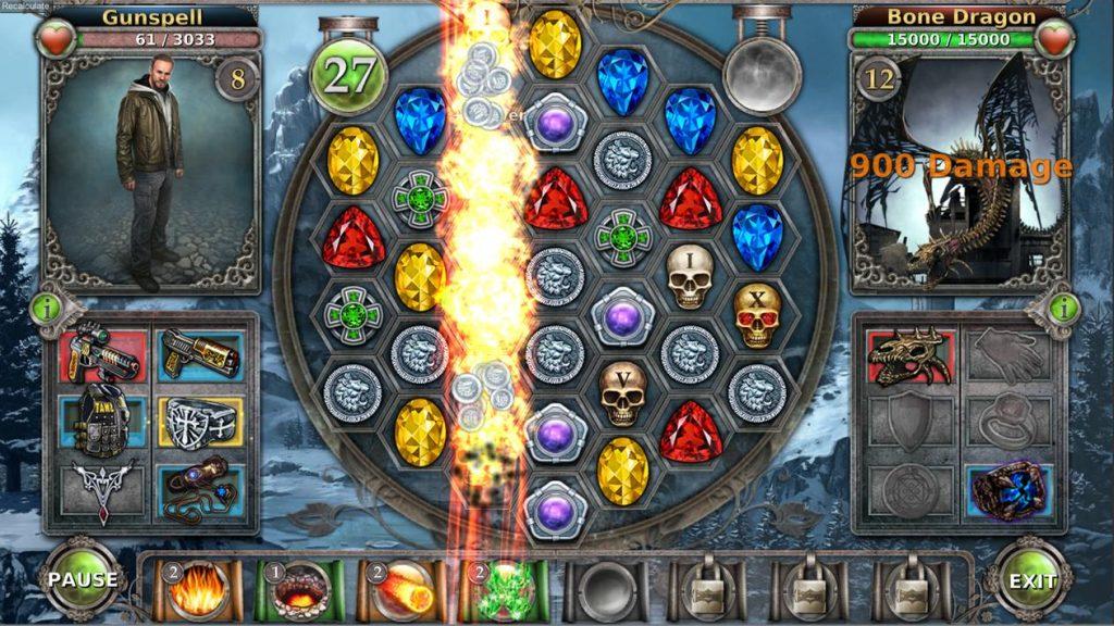 Gunspell – Match 3 Puzzle RPG Apk