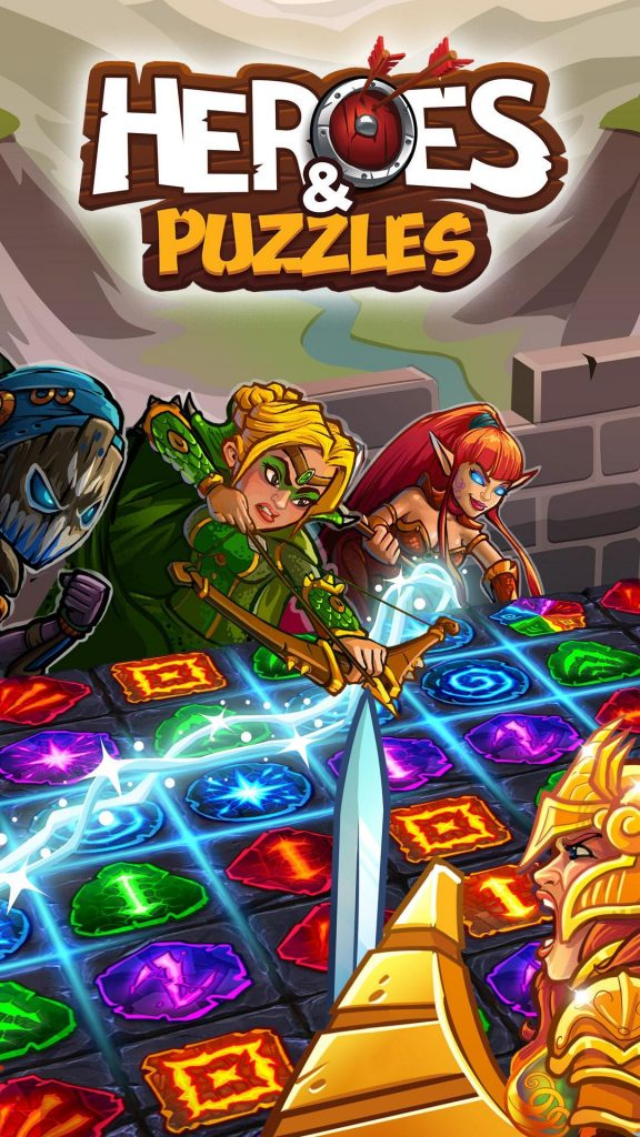 Heroes and Puzzles Apk