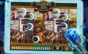 Hidden Objects Haunted House