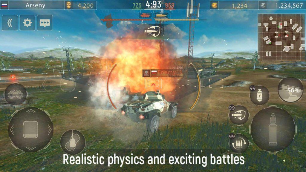 Metal Force PvP Car Shooter Apk