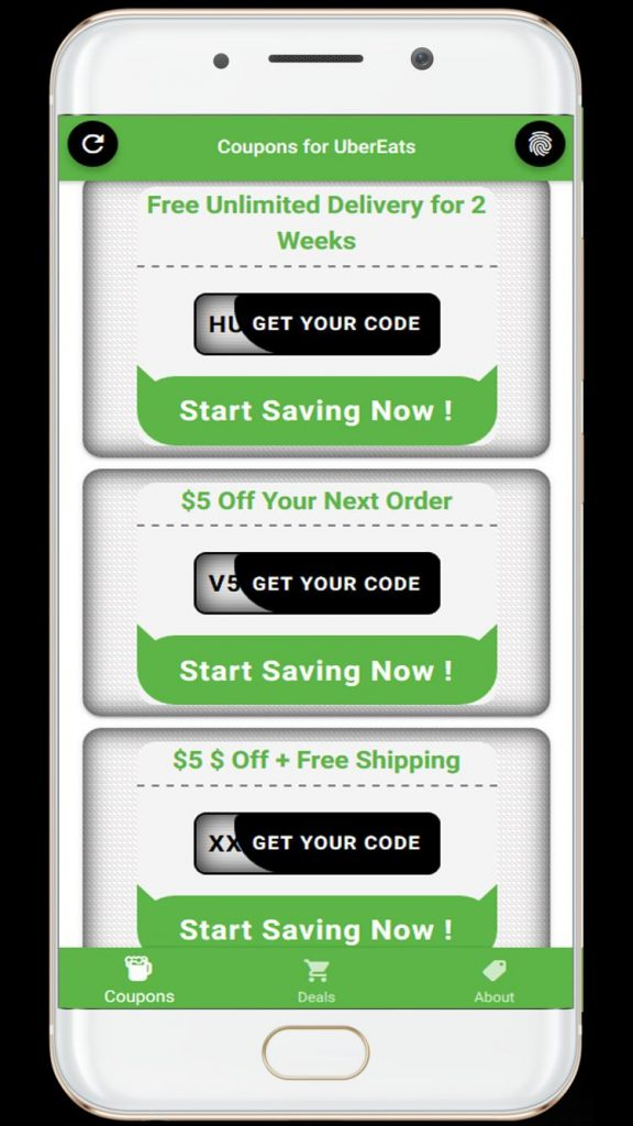 Uber Eats Unlimited Coupons