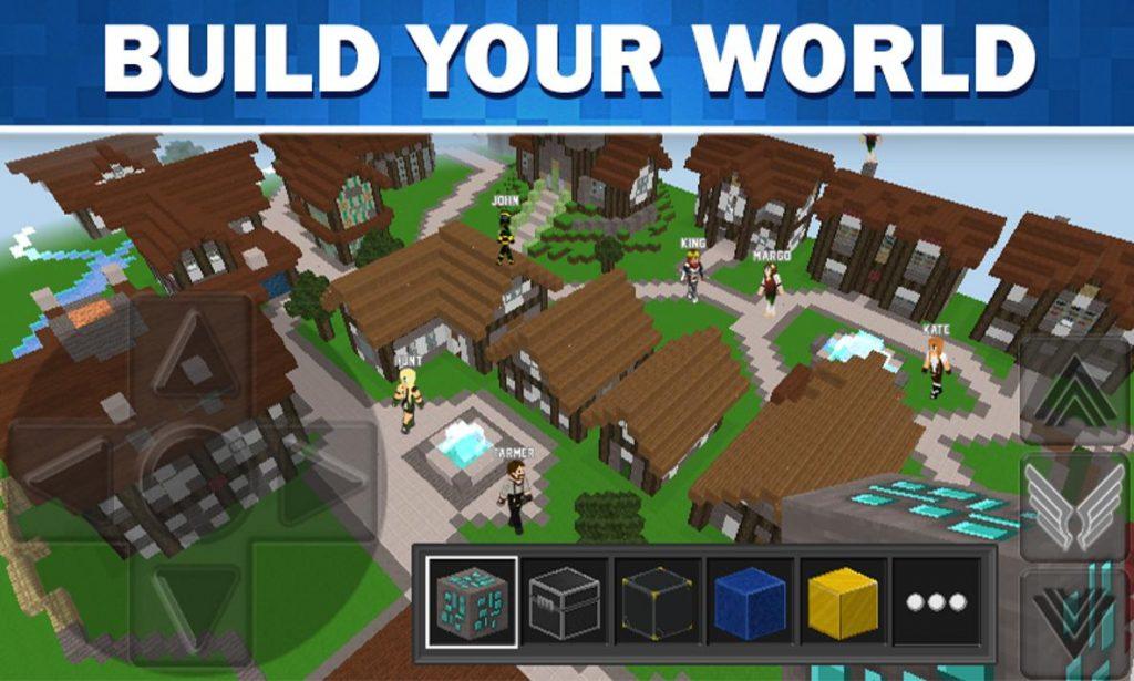 WorldCraft 3D Build & Craft Apk 1
