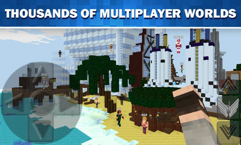 WorldCraft 3D Build & Craft Apk