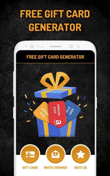 Free Gift Card Generator Pro 2020