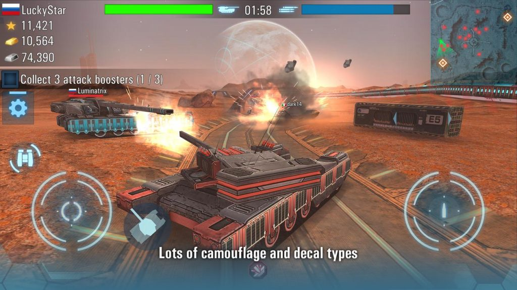 Future Tanks Action Army Tank Apk Mod