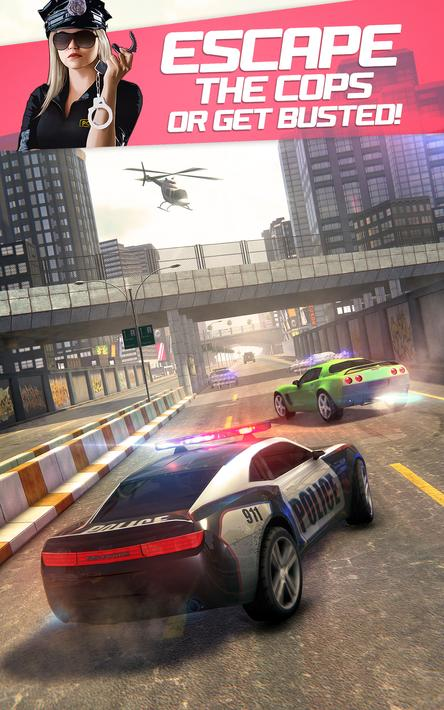 Highway Getaway Police Chase Mod