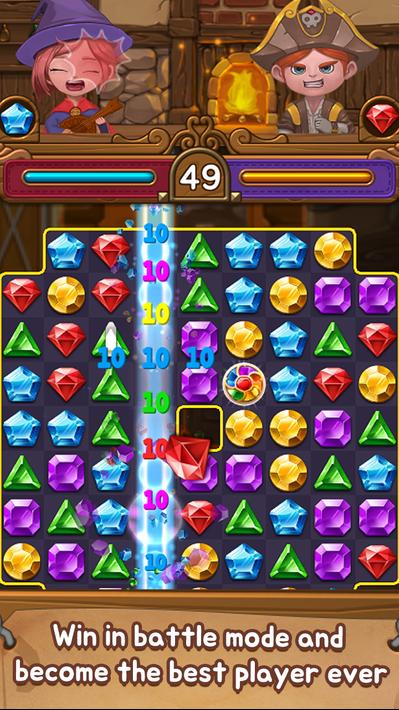 Jewels Time Endless match Apk