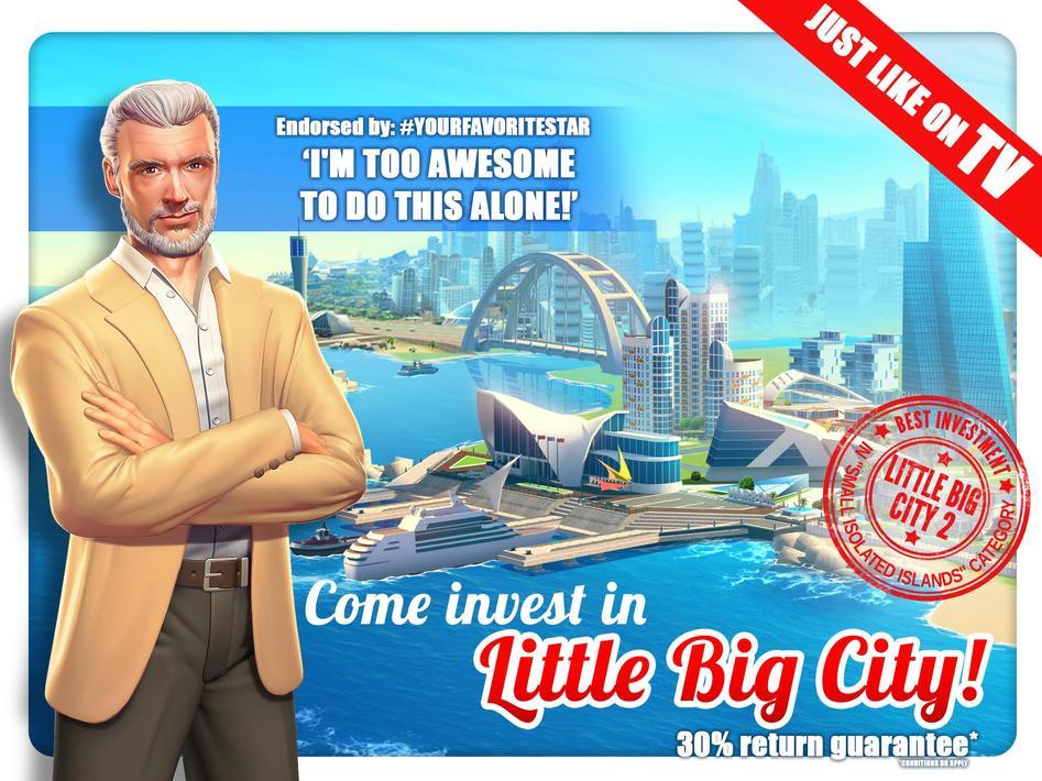 Little Big City Apk Mod