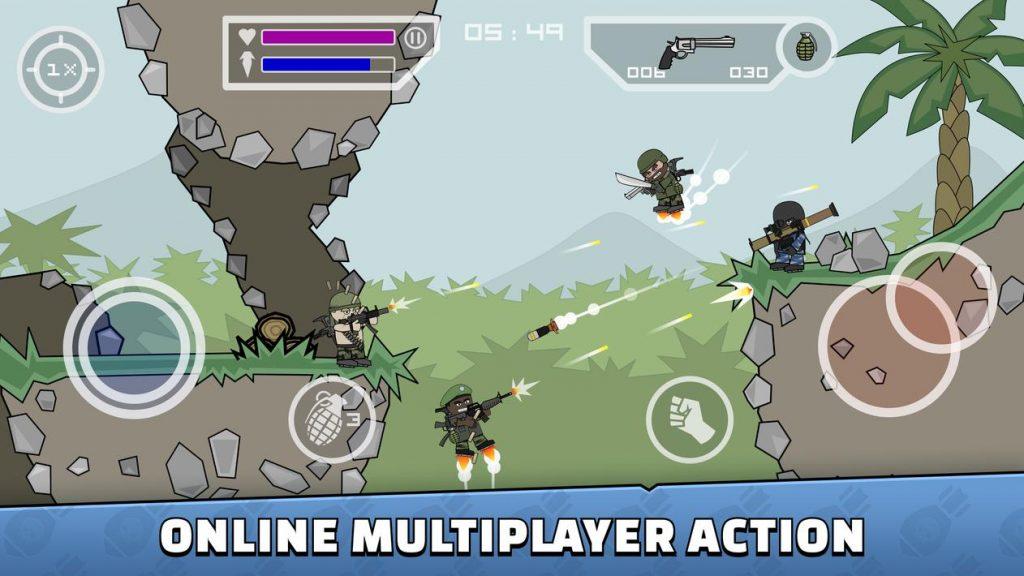 Mini Militia Doodle Army 2 Apk Mod