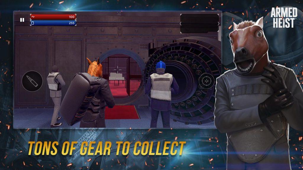 Armed Heist TPS 3D Apk Mod
