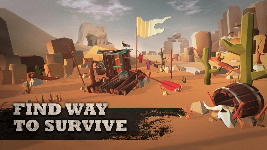 Desert Skies - Survival on Raft Apk Mod