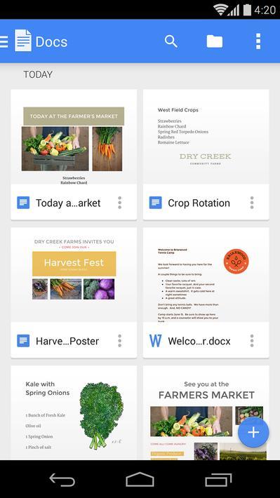 Google Docs Apk Mod