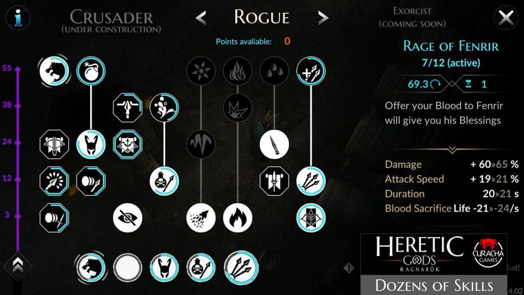 HERETIC GODS Apk Mod Unlock All