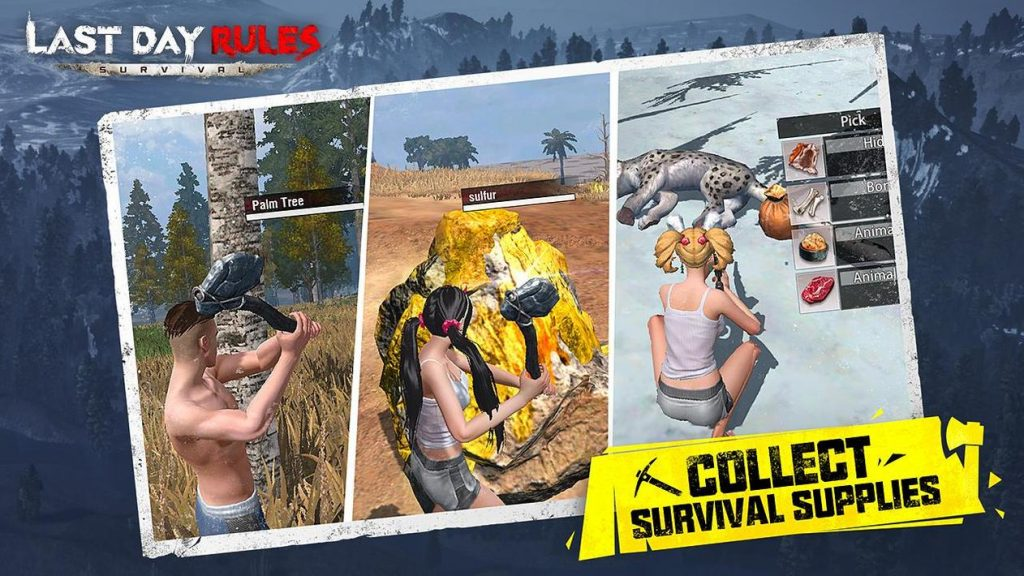 Last Day Rules Survival Apk Mod