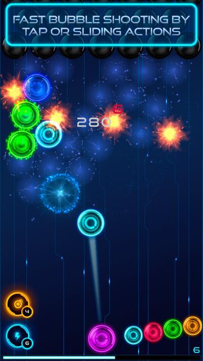Magnetic balls: Neon Apk Mod Unlock All