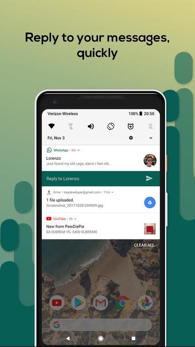 Material Notification Shade Apk Mod