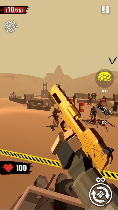 Merge Gun Shoot Zombie Apk Mod