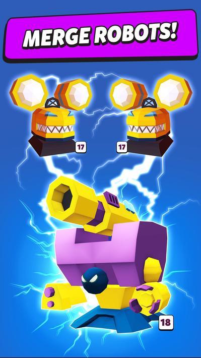Merge Tower Bots Apk Mod