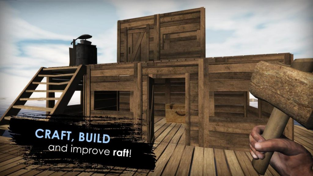 Survival on raft: Crafting in the Ocean Apk Mod