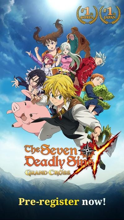 The Seven Deadly Sins Grand Cross Apk Mod