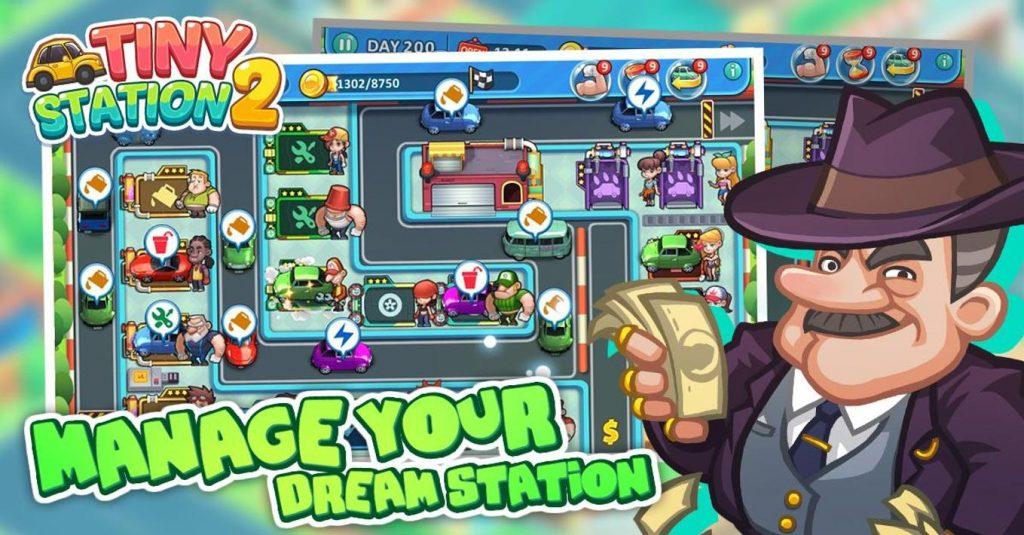 Tiny Station 2 Apk Mod