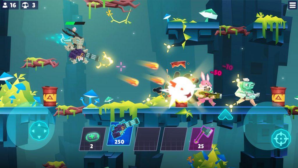 Bullet League 2D Battle Royale Apk Mod