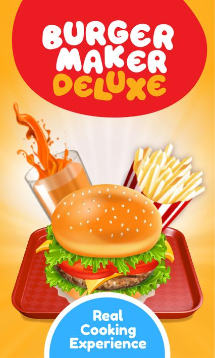 Burger Deluxe - Cooking Games Apk Mod Unlimited