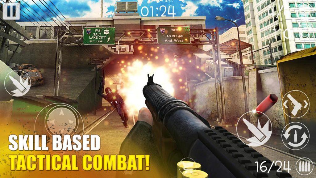 Call Of Battlefield FPS Apk Mod