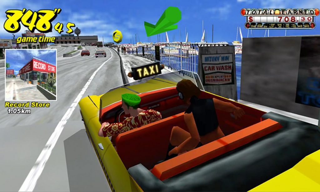 Crazy Taxi Classic Apk Mod