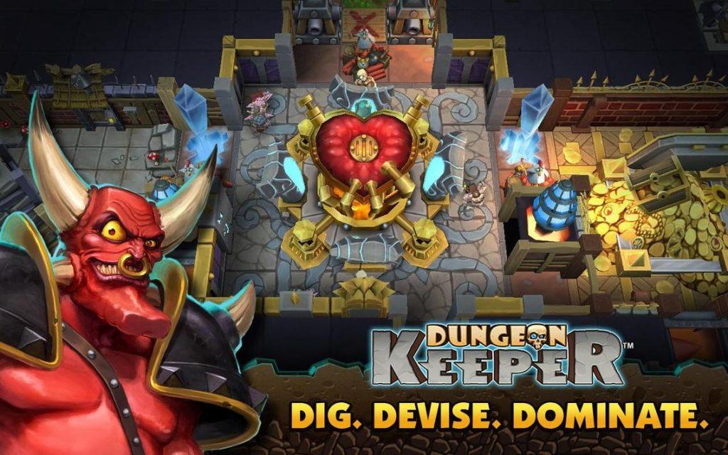Dungeon Keeper Apk Mod