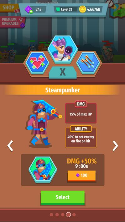 Gear for Heroes Medieval Idle Craft Apk Mod