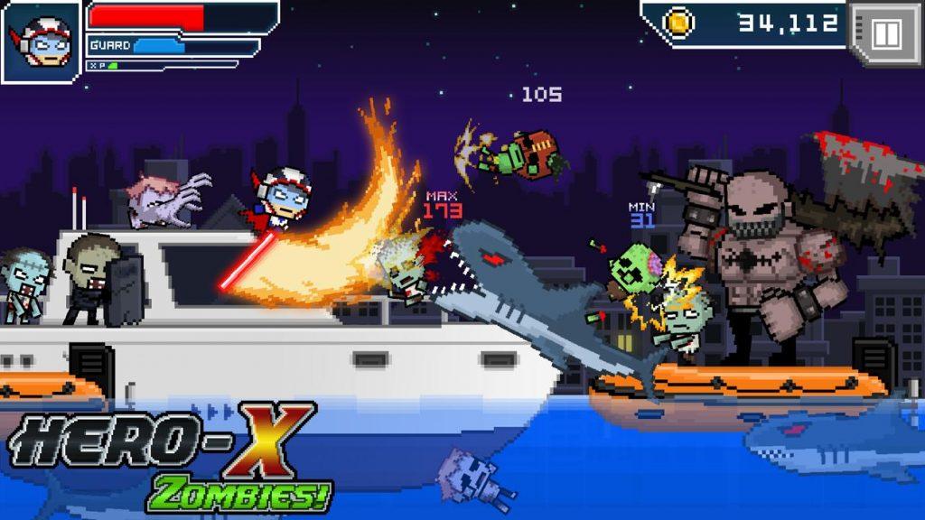 HERO-X  ZOMBIES! Apk Mod