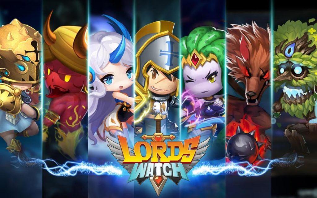 Lords Watch Tower Defense RPG Apk Mod