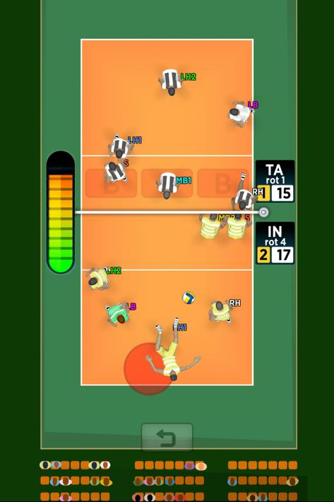 Spike Masters Volleyball Apk Mod