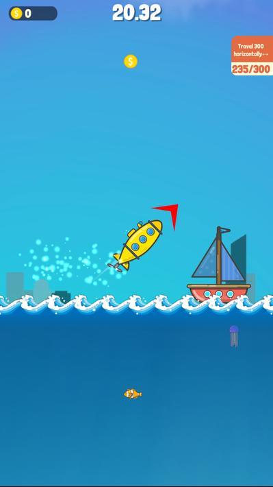Submarine Jump Apk Mod
