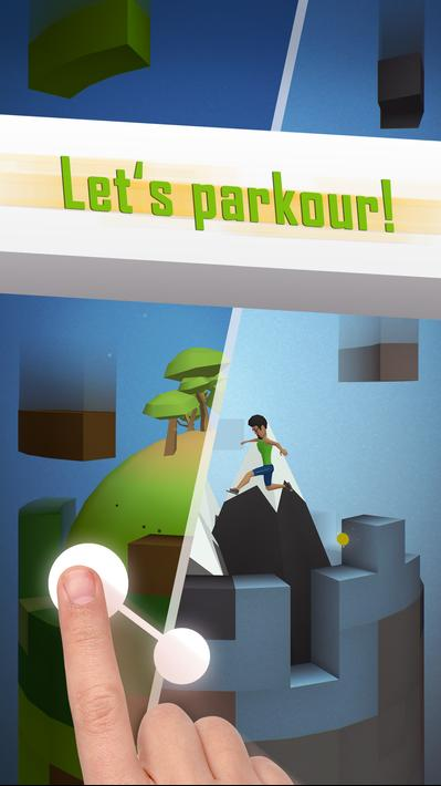 Tetrun Parkour Mania Apk Mod