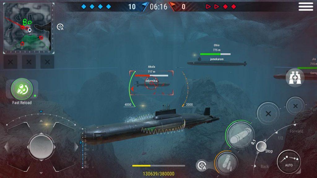WORLD of SUBMARINES Navy Shooter 3D Wargame Unlock All