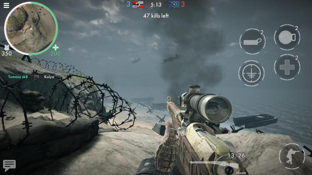 World War Heroes WW2 FPS Apk Mod Unlock All