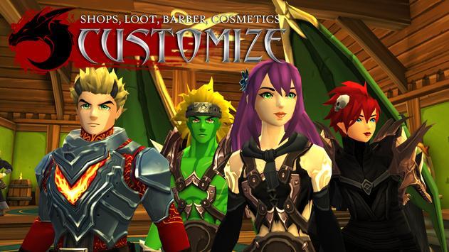 AdventureQuest 3D MMO RPG Apk Mod