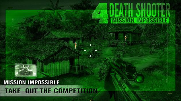 Death Shooter 4  Mission Impossible Apk Mod