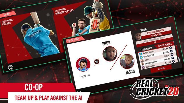 Real Cricket 20 Apk Mod