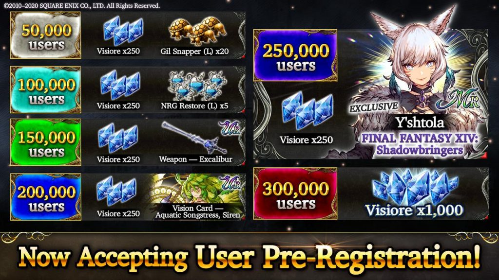 WAR OF THE VISIONS FFBE Apk Mod