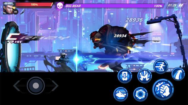 Cyber Fighters Legends Of Shadow Battle Apk Mod