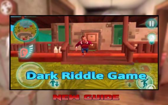 Dark Riddle Guide Apk Mod