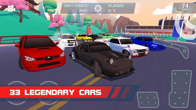 Drift Clash Online Racing Apk Mod All Unlocked