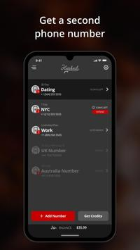Hushed Second Phone Number Apk Mod
