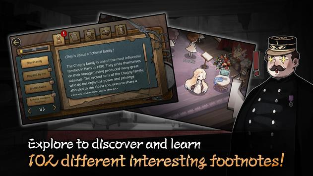 A shocking romantic tale at a lofty drama house!  A romantic tale, causing a remarkable mix at the theater, with such pressure encompassing it!  Furthermore, the unpleasant cases will be uncovered.  Play the game, to encounter concealed stories at the show house!  'MazM: The Phantom of the Opera is Team MazM's third game, after 'MazM: Jekyll and Hyde'.