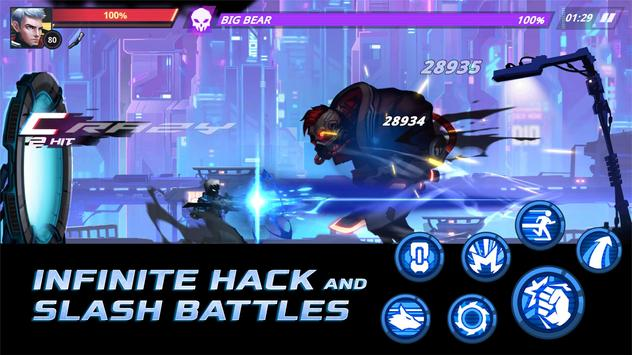 Cyber Fighters Death of the Legend Shadow Hunter Apk Mod